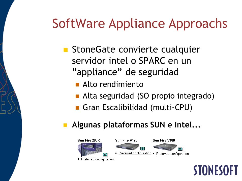 SoftWare Appliance Approachs