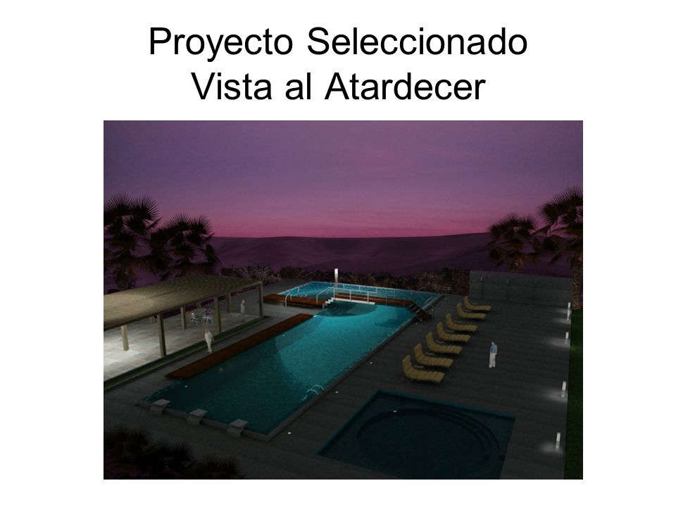 Proyecto Seleccionado Vista al Atardecer