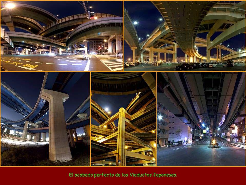El acabado perfecto de los Viaductos Japoneses.