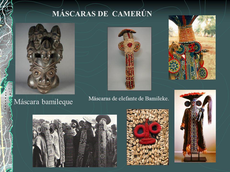 MÁSCARAS DE CAMERÚN Máscara bamileque