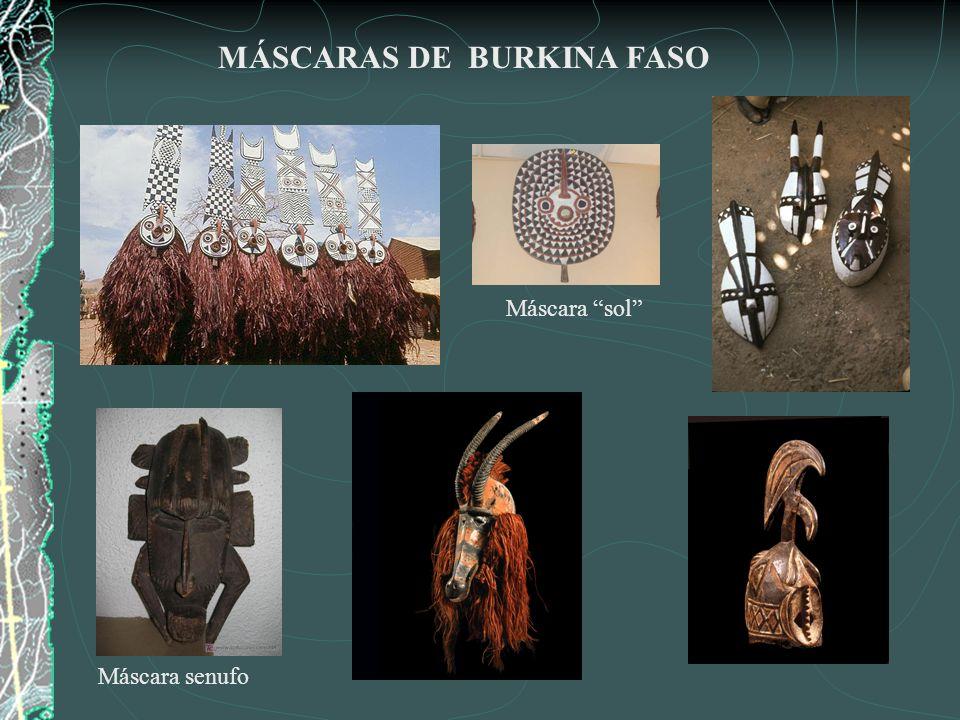 MÁSCARAS DE BURKINA FASO