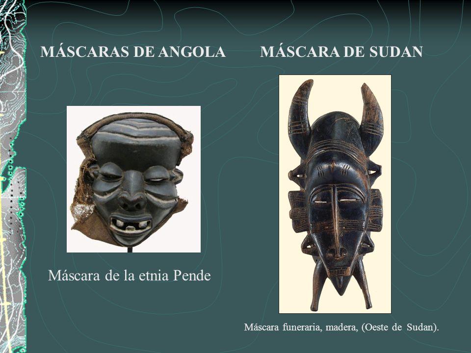 Máscara de la etnia Pende