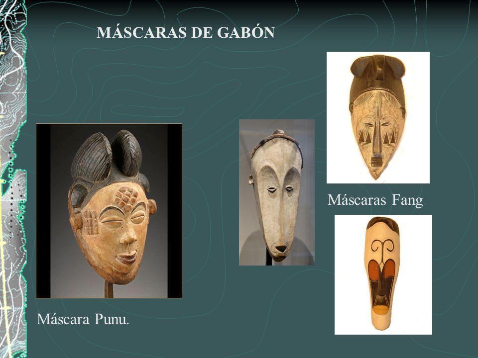 MÁSCARAS DE GABÓN Máscaras Fang Máscara Punu.