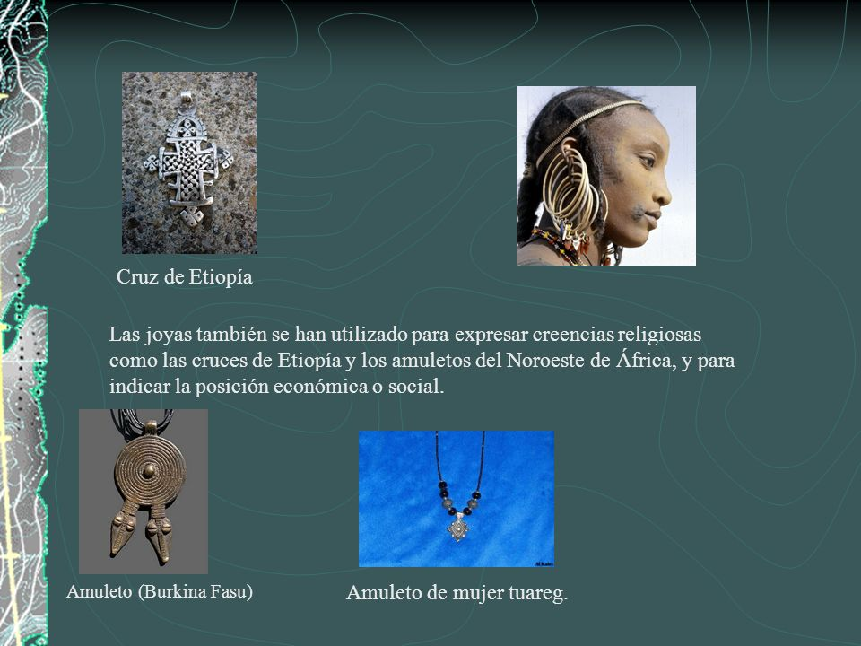 Amuleto de mujer tuareg.
