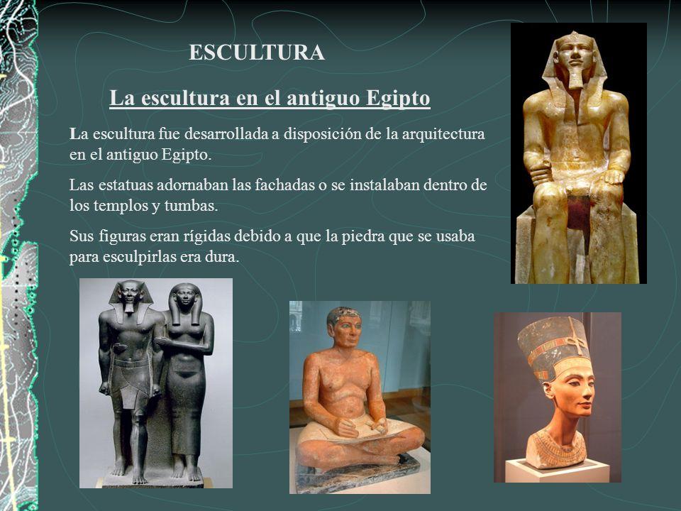 La escultura en el antiguo Egipto