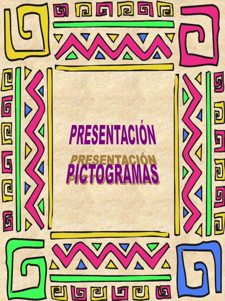 PRESENTACIÓN PICTOGRAMAS