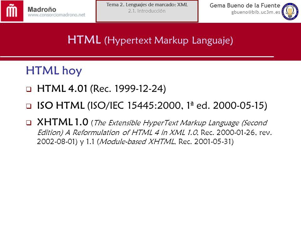 HTML (Hypertext Markup Languaje)