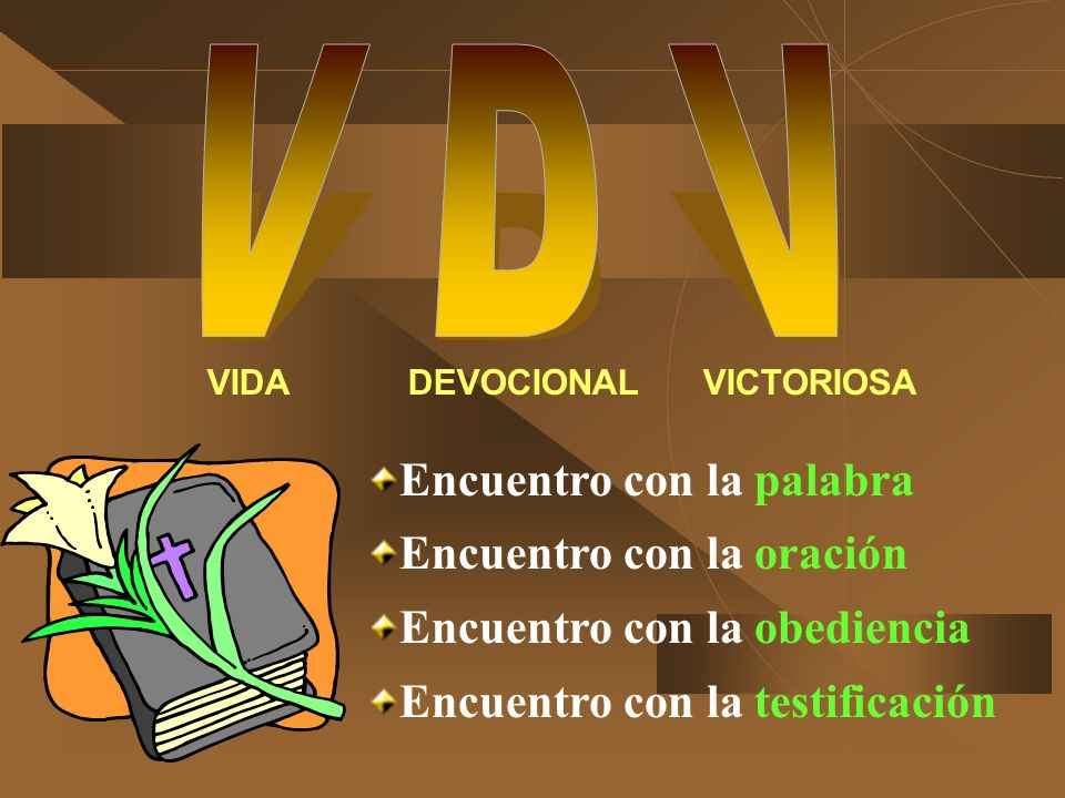 VIDA DEVOCIONAL VICTORIOSA
