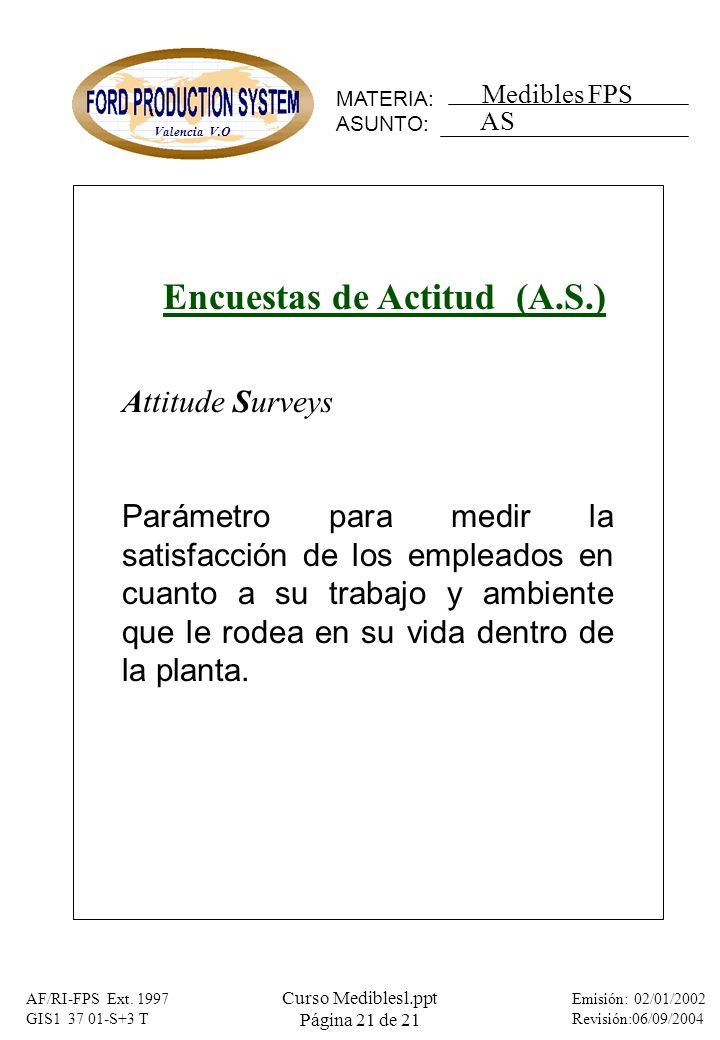 Encuestas de Actitud (A.S.)