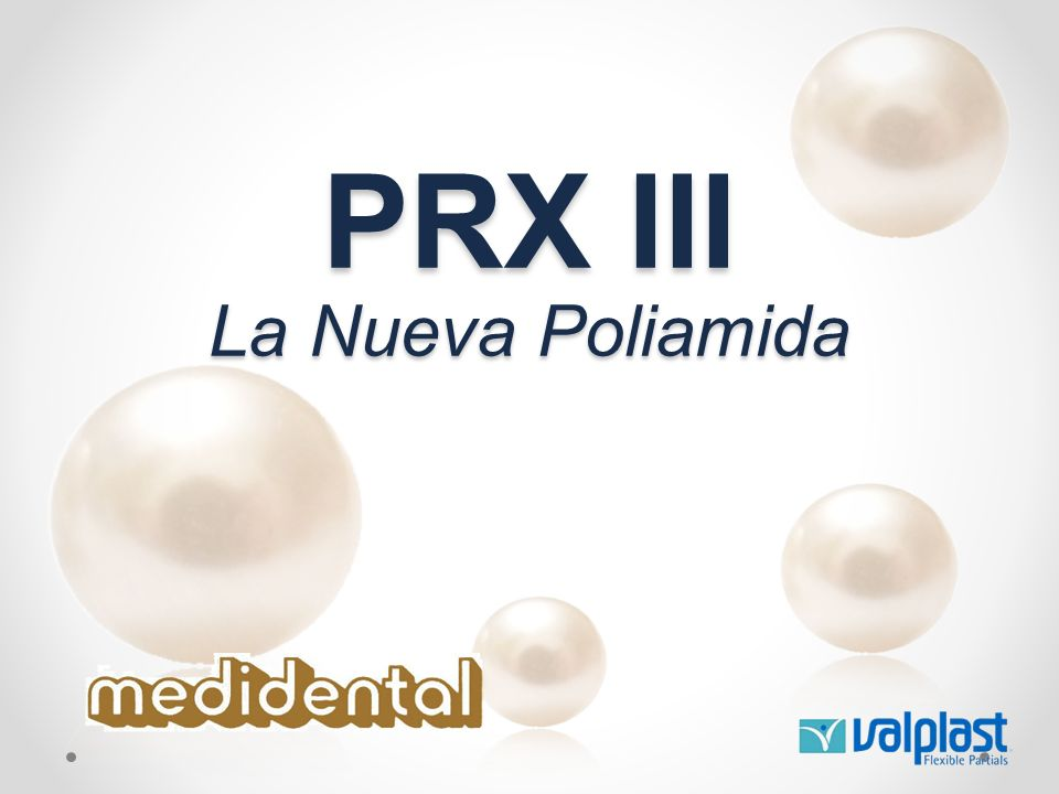PRX III La Nueva Poliamida