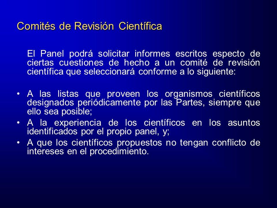 Comités de Revisión Científica