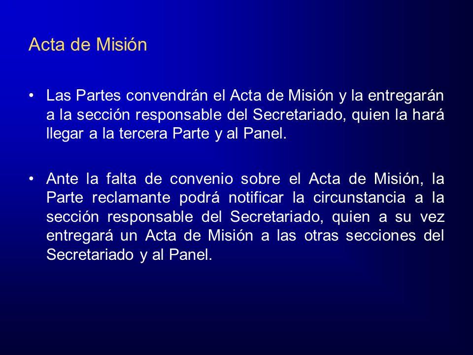 Acta de Misión