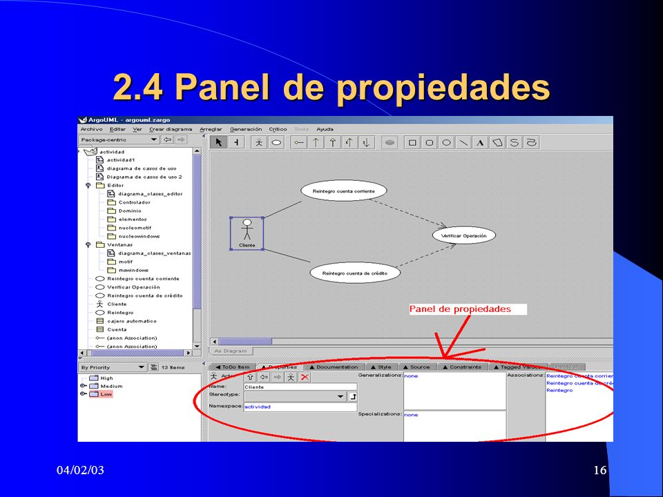 2.4 Panel de propiedades 04/02/03