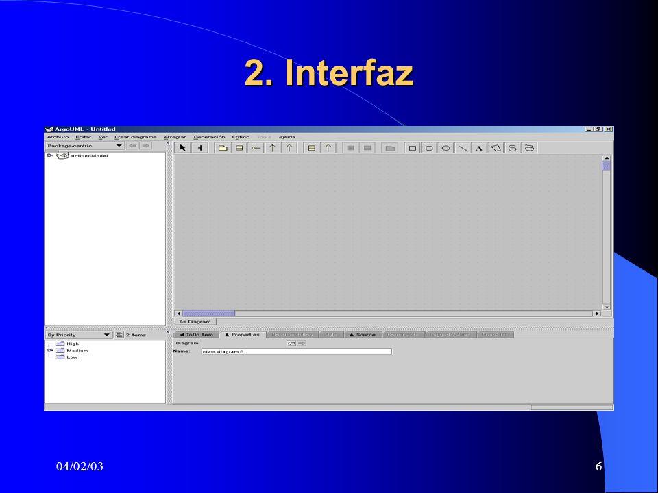 2. Interfaz 04/02/03