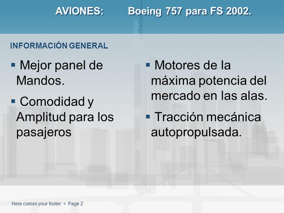 AVIONES: Boeing 757 para FS 2002.