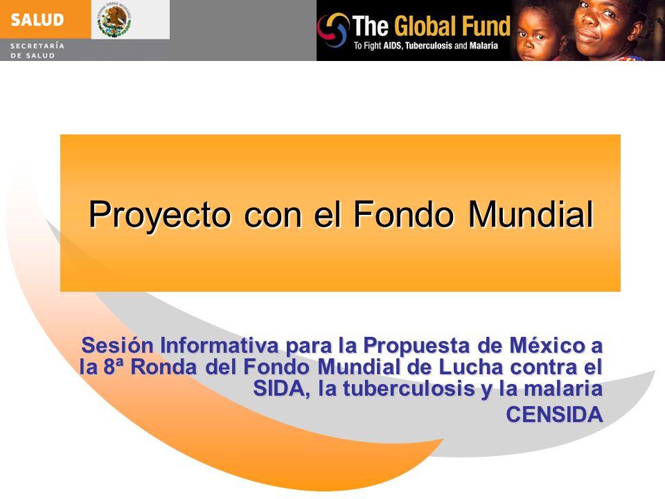 Proyecto con el Fondo Mundial