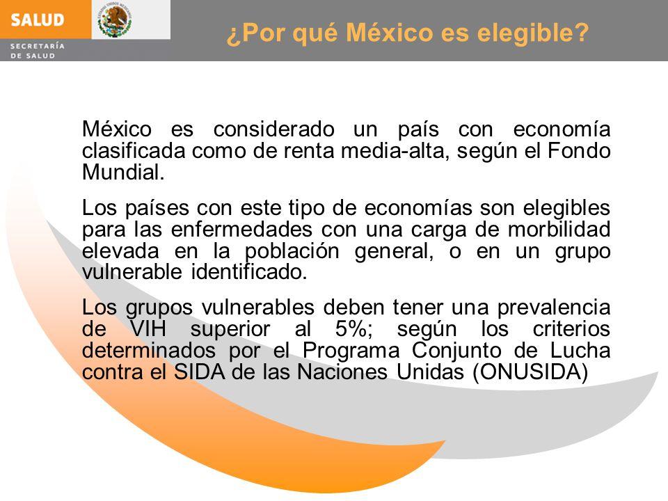 ¿Por qué México es elegible