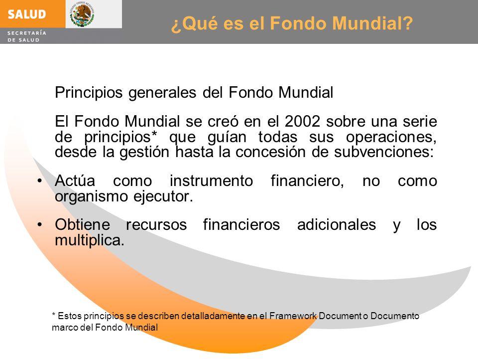 ¿Qué es el Fondo Mundial