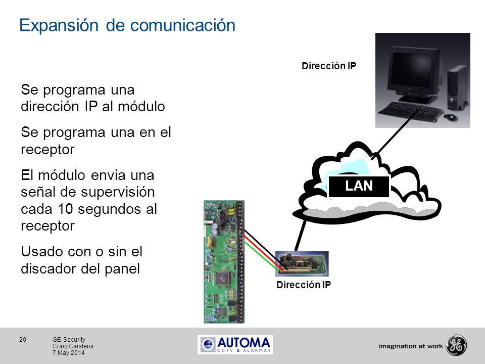 Expansión de comunicación