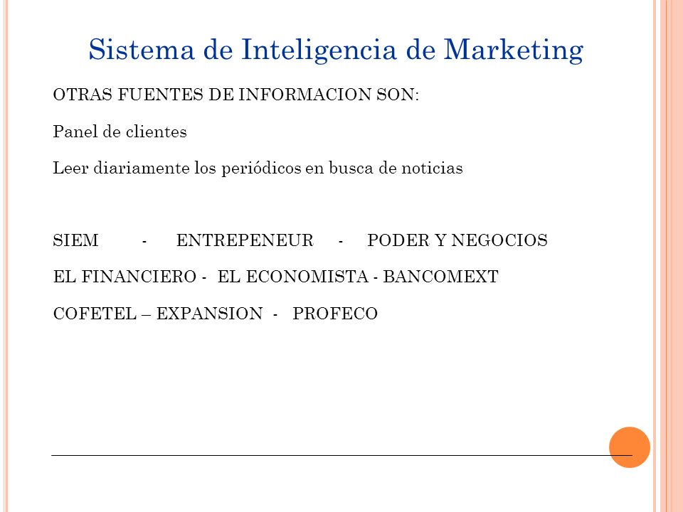 Sistema de Inteligencia de Marketing