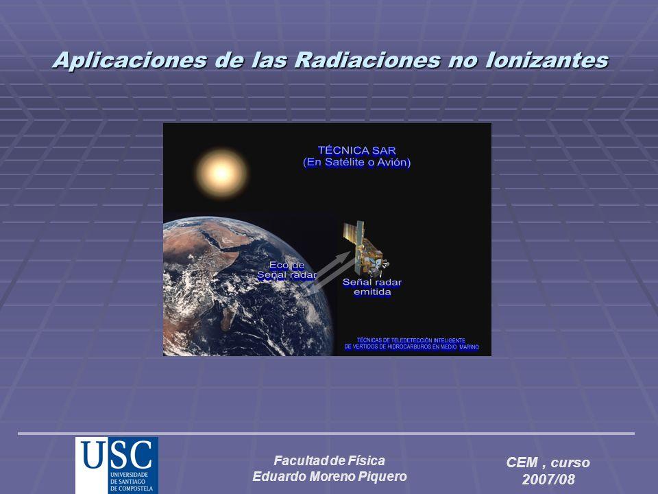 Aplicaciones de las Radiaciones no Ionizantes