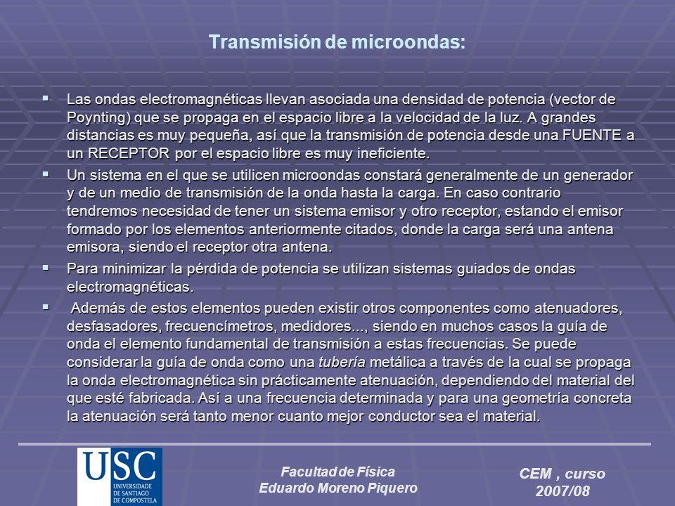 Transmisión de microondas: