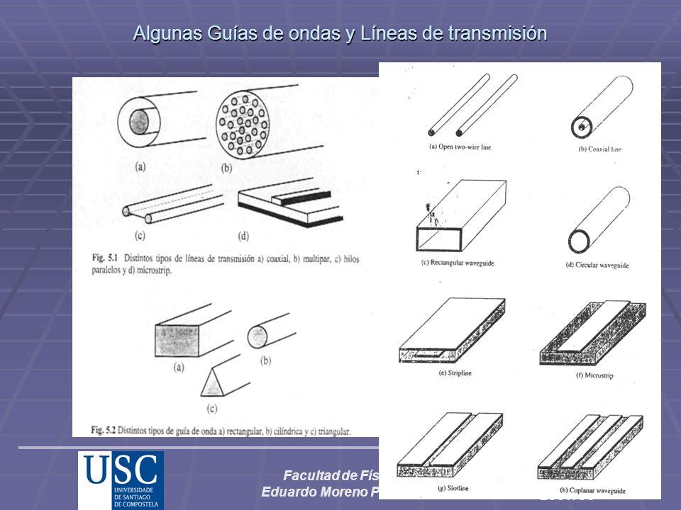 Algunas Guías de ondas y Líneas de transmisión