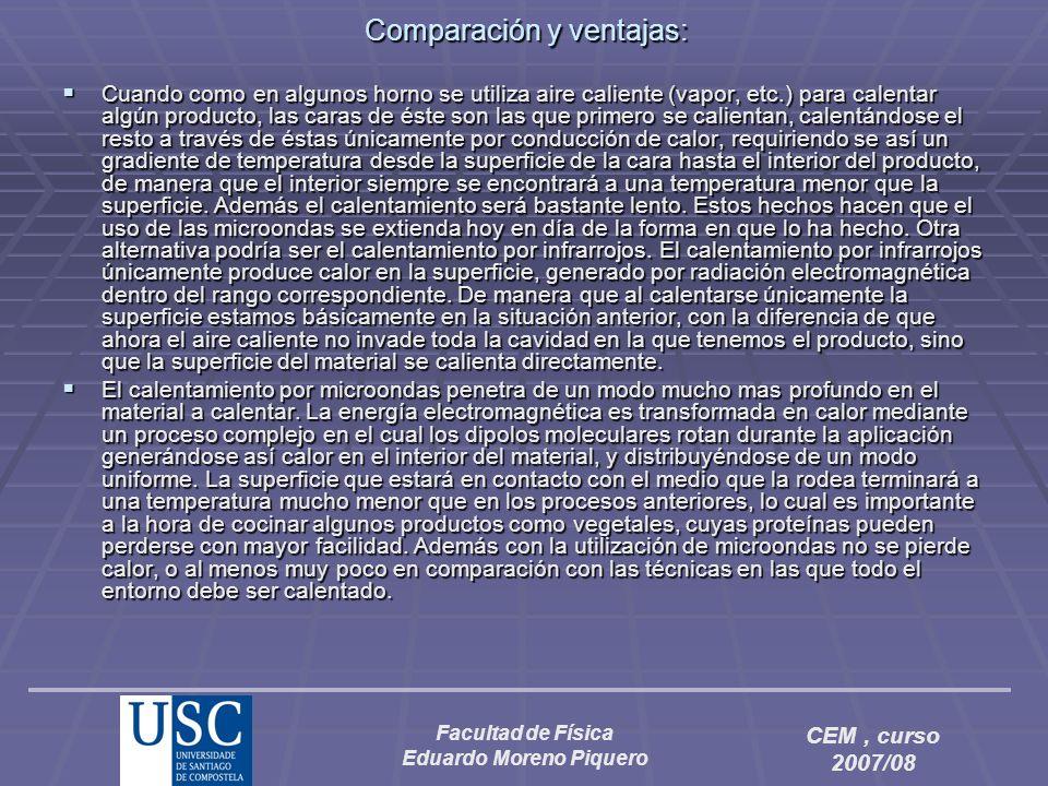 Comparación y ventajas: