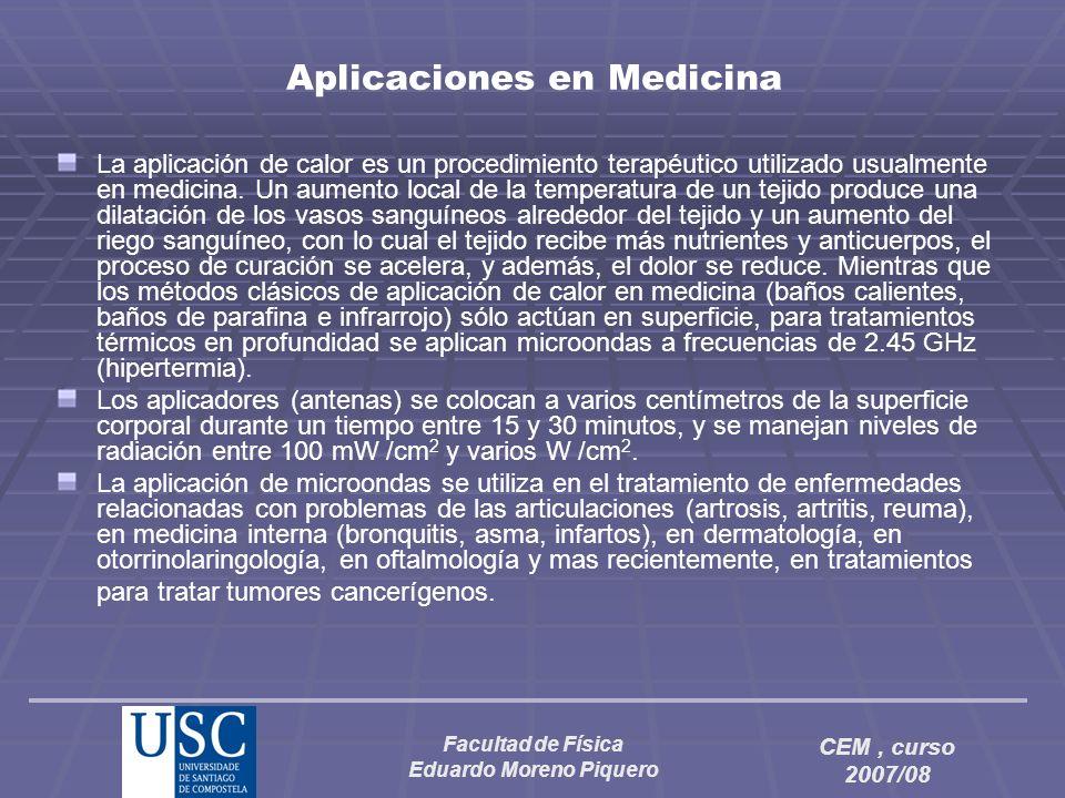 Aplicaciones en Medicina