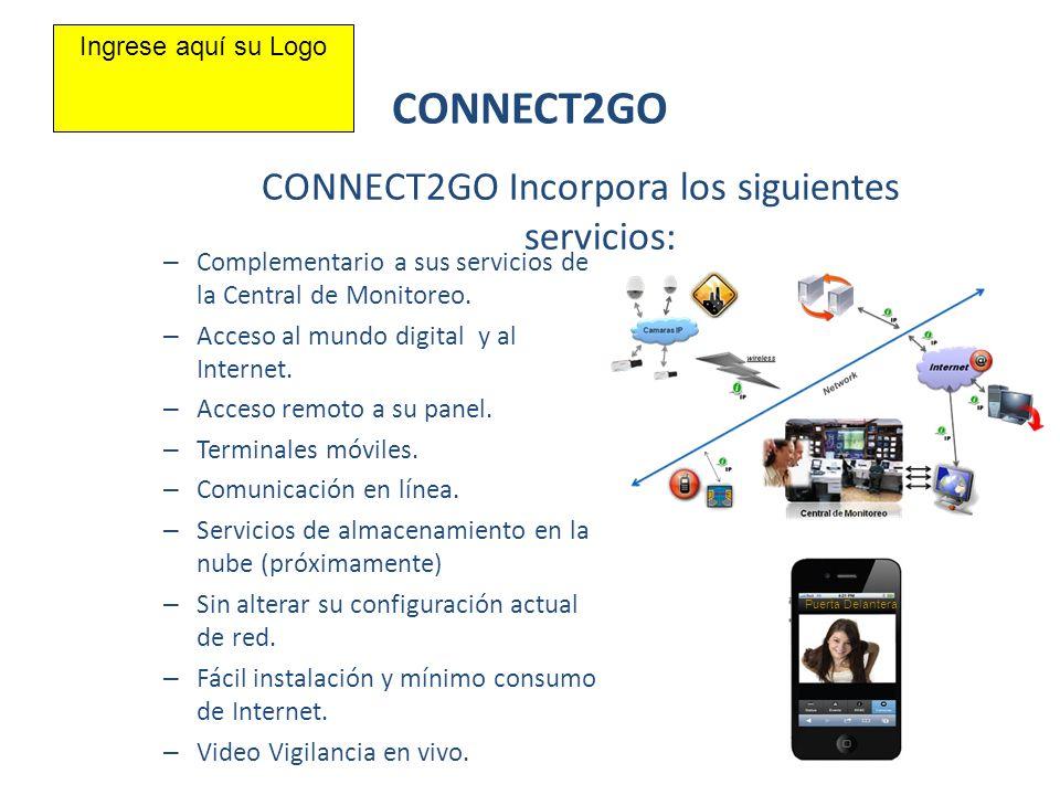 CONNECT2GO Incorpora los siguientes servicios: