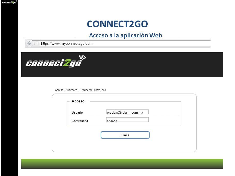 Acceso a la aplicación Web