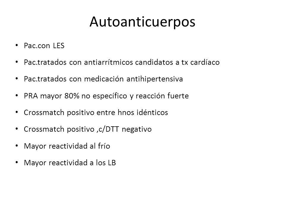 Autoanticuerpos Pac.con LES