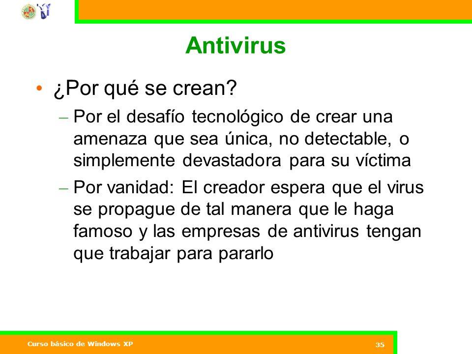 Antivirus ¿Por qué se crean