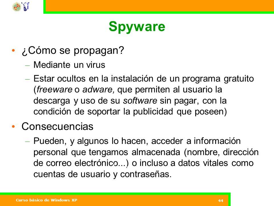 Spyware ¿Cómo se propagan Consecuencias Mediante un virus