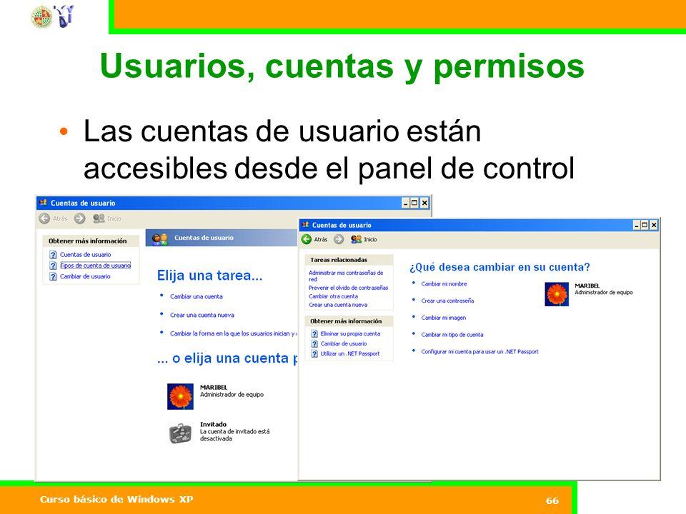 Usuarios, cuentas y permisos