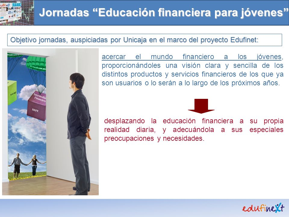Jornadas Educación financiera para jóvenes