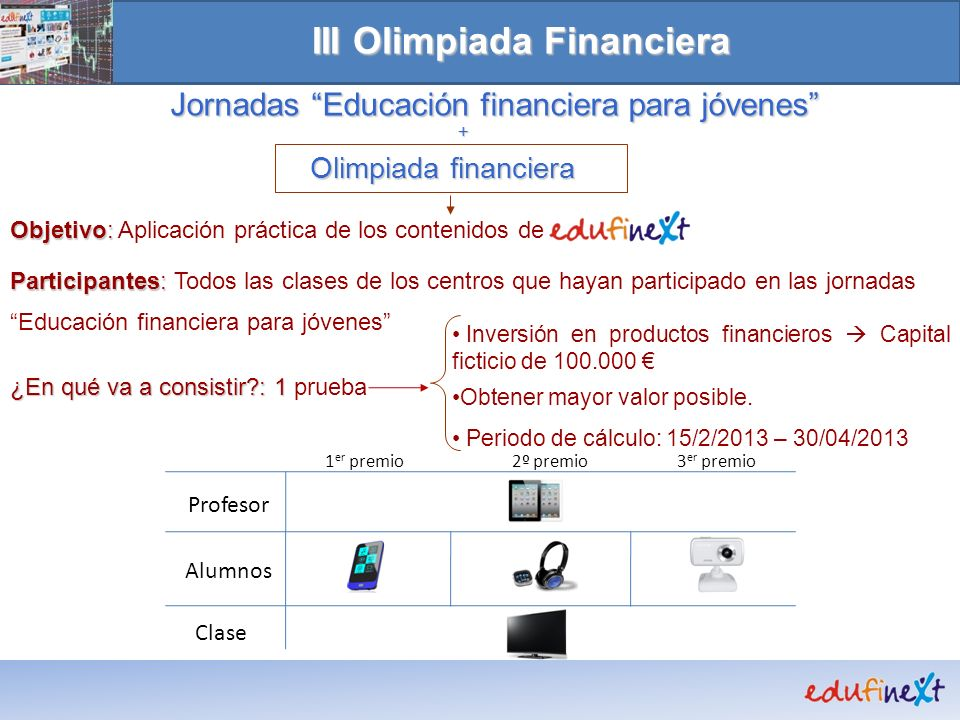 III Olimpiada Financiera