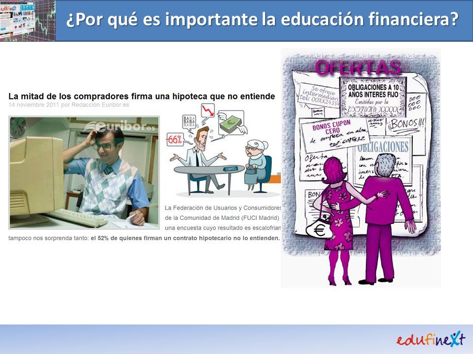 ¿Por qué es importante la educación financiera