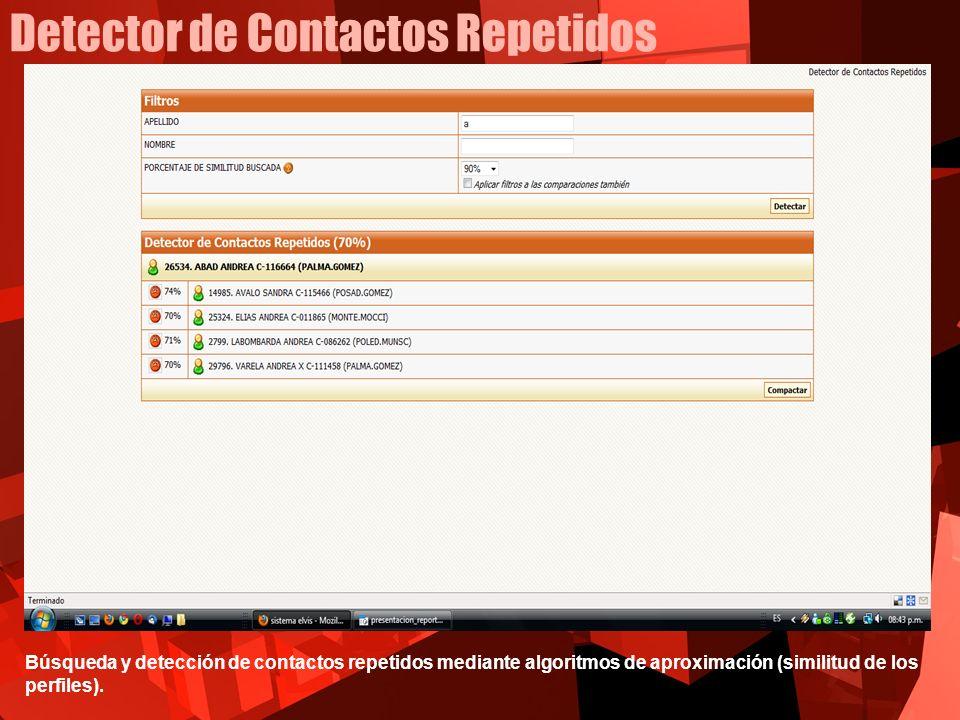 Detector de Contactos Repetidos