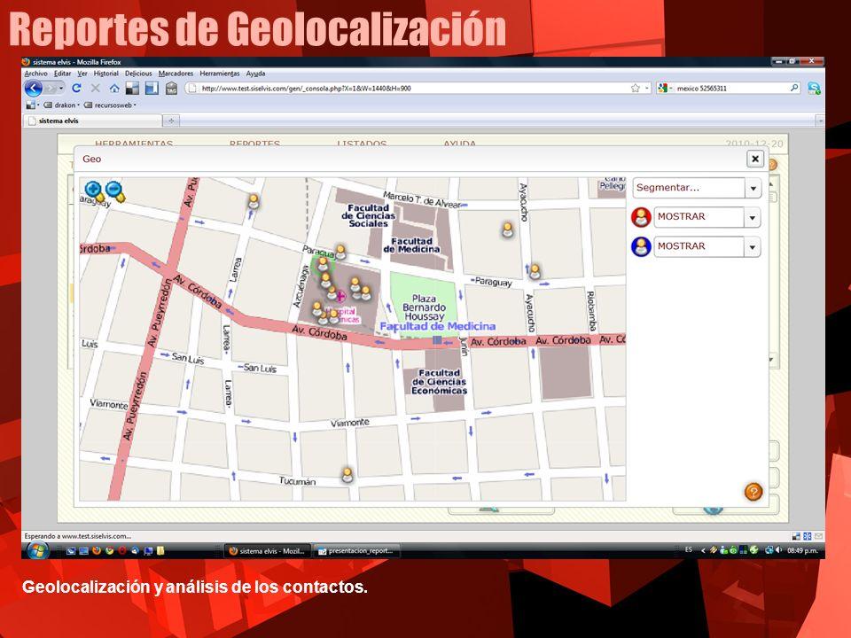 Reportes de Geolocalización