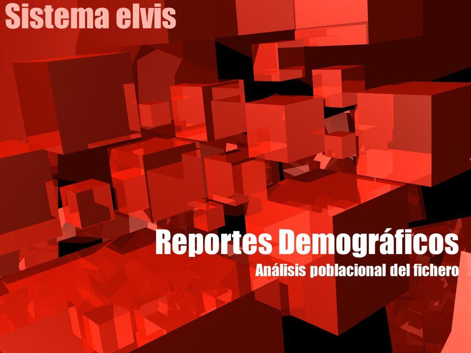 Reportes Demográficos