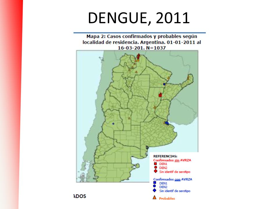 DENGUE, 2011