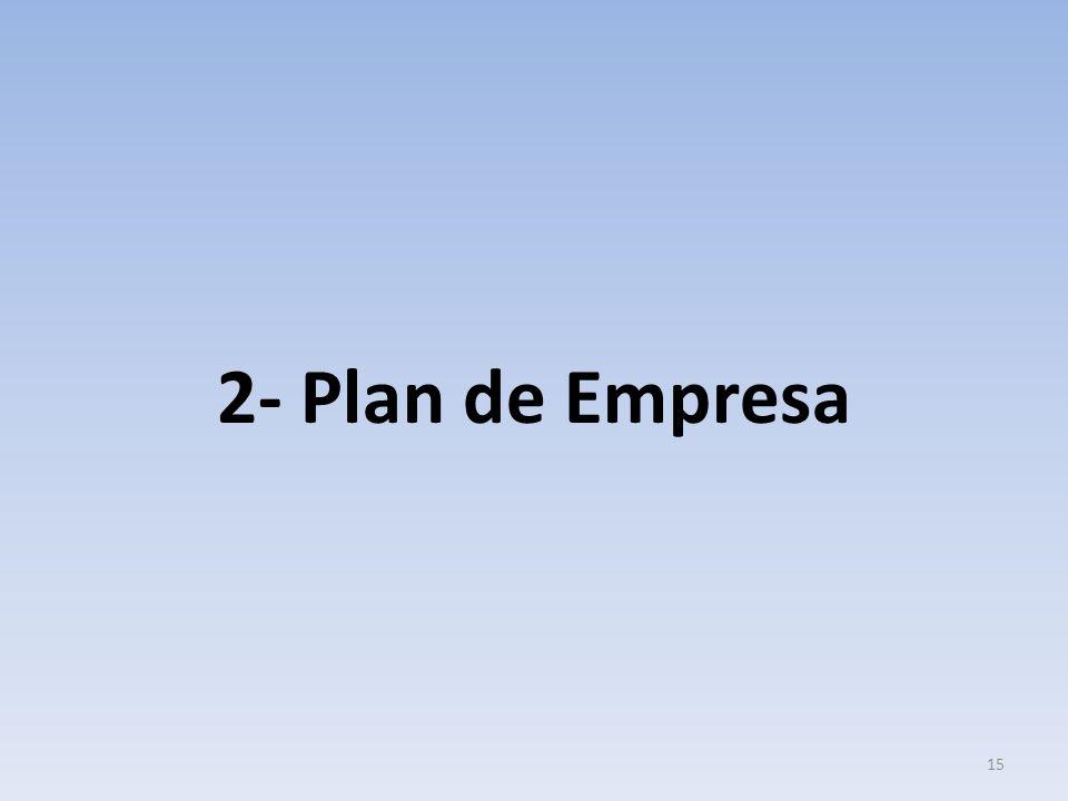 2- Plan de Empresa