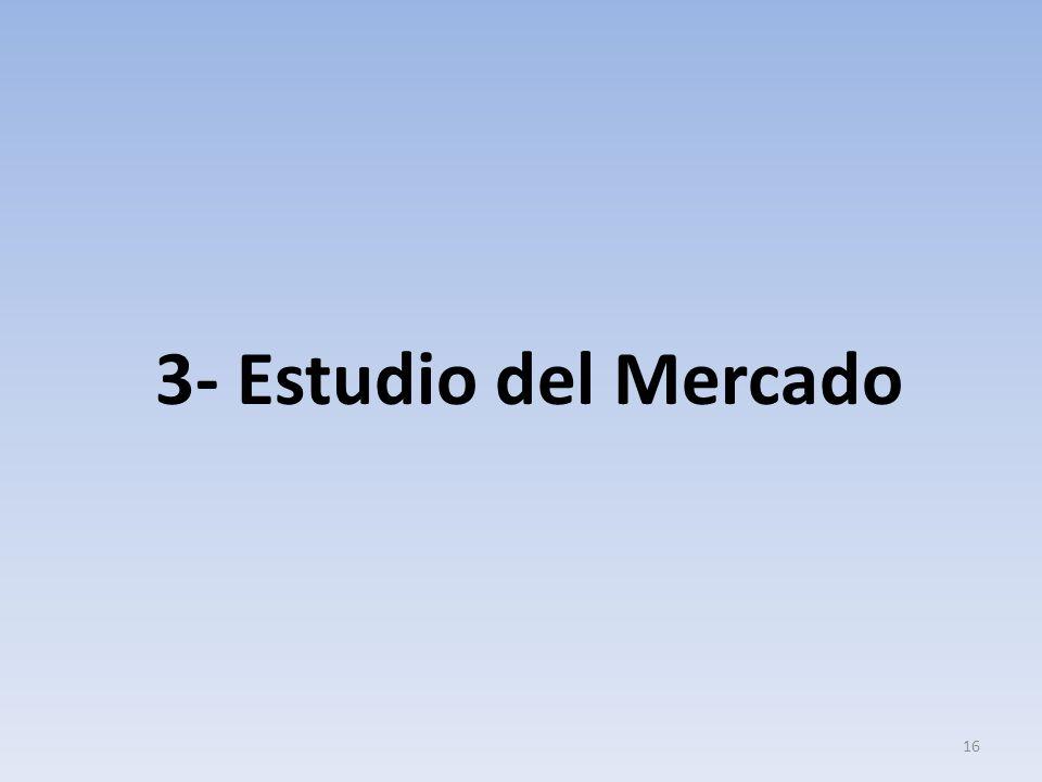 3- Estudio del Mercado