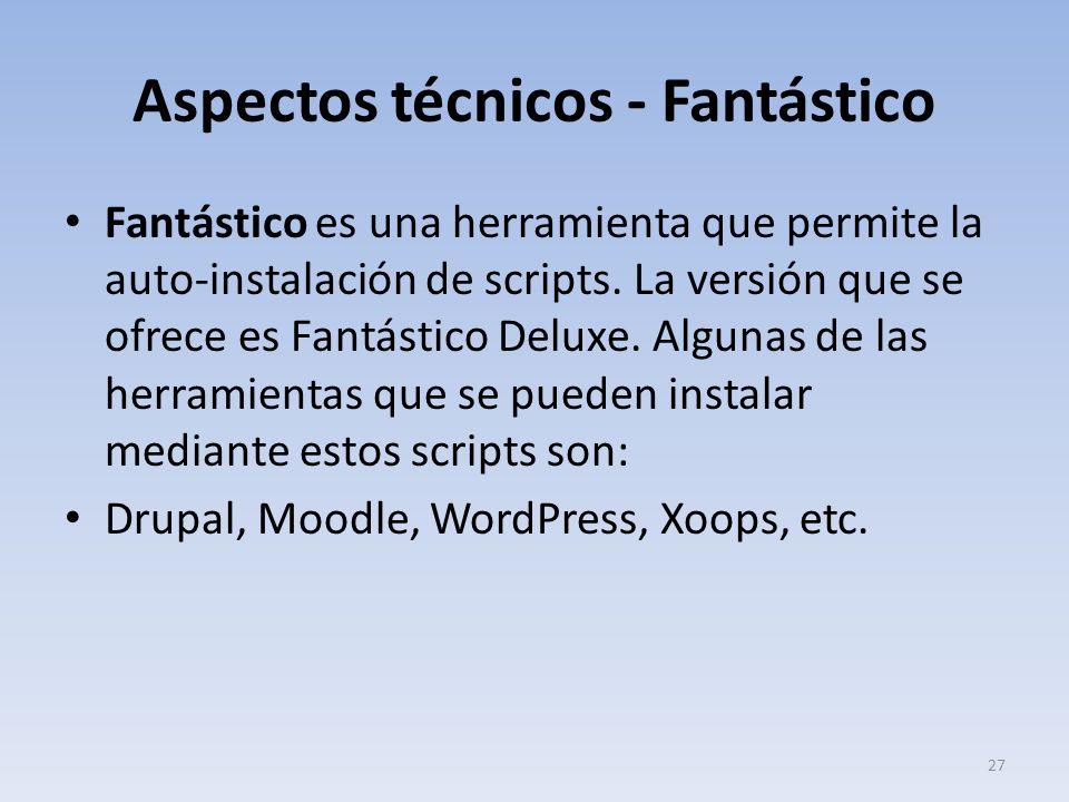 Aspectos técnicos - Fantástico