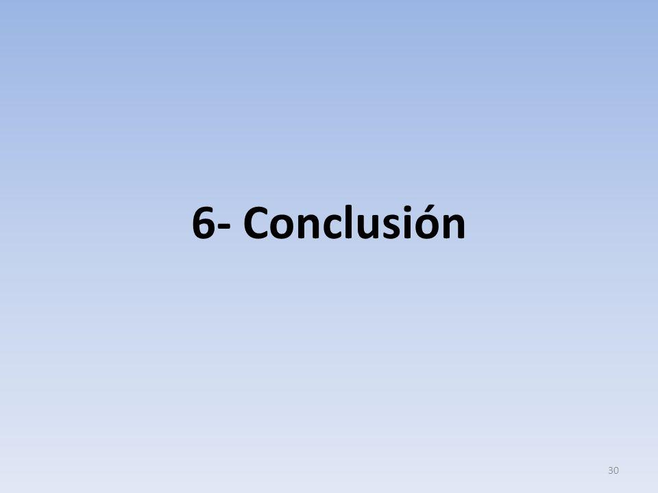 6- Conclusión