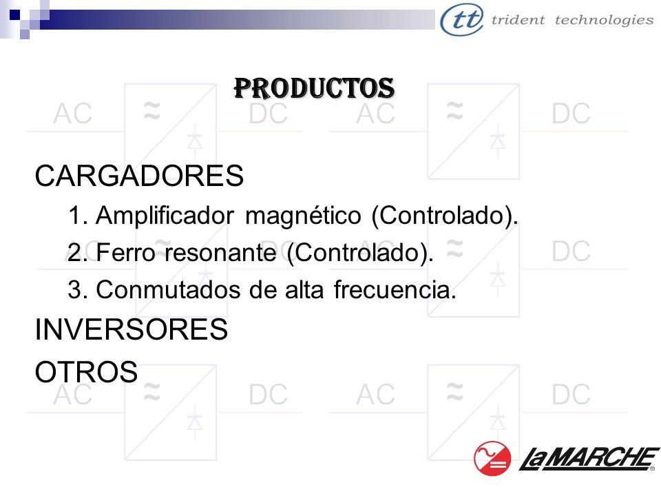 PRODUCTOS CARGADORES INVERSORES OTROS
