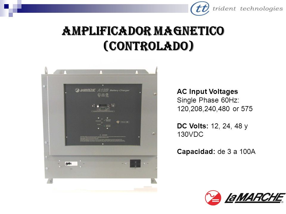 AMPLIFICADOR MAGNETICO (Controlado)
