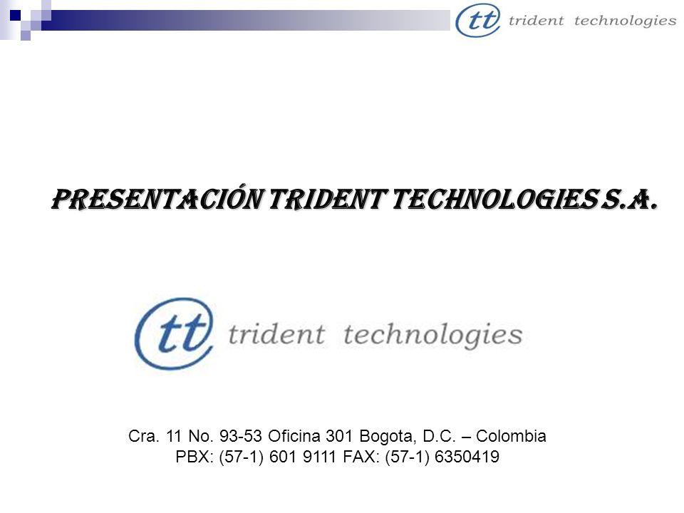Presentación Trident Technologies S.A.