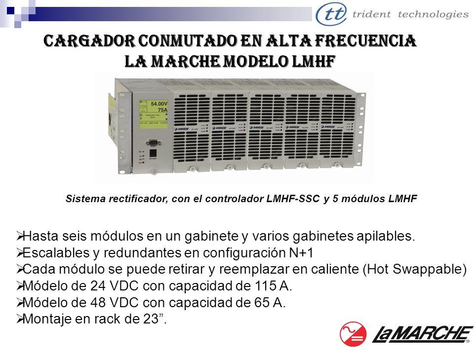 Cargador conmutado en alta frecuencia La Marche modelo LMHF